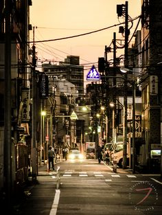 Kagurazaka at dawn time 4
