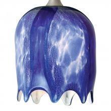Nora NRS80-493BU - Water Fall Glass, Blue