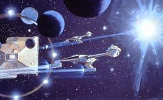 Robert McCall's concept paintings for Star Trek: The Motion Picture