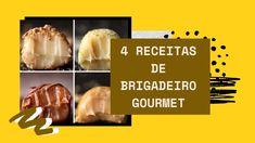 Você é fã de brigadeiros? Acredito que sim! O doce brasileiro mais famoso e adorado do mundo ganha diversas versões. A seguir, você verá 4 receitas de brigadeiro gourmet que irão te deixar com água na boca.  #recipes #food #receitas #foodrecipes #doces #docesfinos #docesgourmet #brigadeiro #brigadeirogourmet #brasil #foodicas Creme Brulee, Sim, Blog, Vegetarian Recipes, Tailgate Desserts, Recipes, Blogging