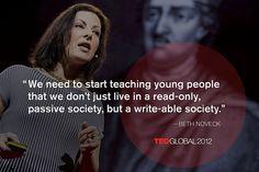 Beth Noveck at TEDGlobal 2012. Photo: James Duncan Davidson