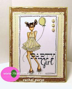 Knee Deep In Paper: Party Girl!