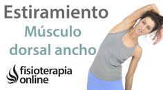 4.Estiramiento del músculo Dorsal ancho.
