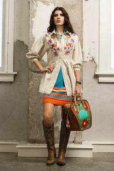 Roja Spring 2015 Embroidered Otomi Tunic!