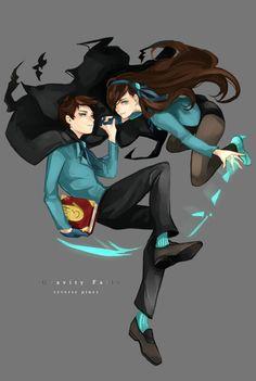 Reverse Dipper & Mabel