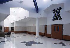 Van Alstyne High School, Texas   #Fritztile #Terrazzo #Tile #Flooring #school #schoolfloor