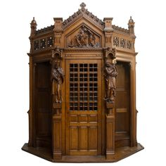 Gothic Confessional   From a unique collection of antique and modern religious items at http://www.1stdibs.com/furniture/more-furniture-collectibles/religious-items/