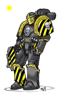 Unidentified Iron Warrior by Adrian-Drake