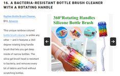 Amazon Gifts, Brush Cleaner, Bottle, Flask, Makeup Brush Cleaner, Jars