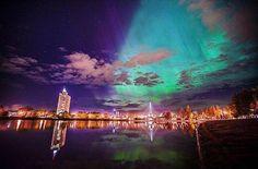 Erasmus in Estonia- part 2 - Tartu Northern Lights, It Cast, Nature, Travel, Naturaleza, Viajes, Destinations, Nordic Lights, Aurora Borealis