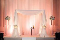 Elegant Atlanta Hotel Modern Jewish Wedding//chuppah
