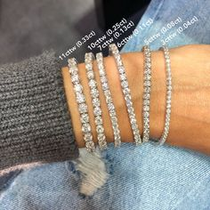 This Year Best Diamond Bracelets and Bangles Diamond Bracelets, Diamond Jewelry, Silver Jewelry, Bangles, Diamond Earrings, Diamond Tennis Necklace, Dainty Bracelets, Sapphire Necklace, Ankle Bracelets