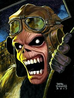 Iron Maiden Aces High, Eddie Iron Maiden, Grateful Dead Wallpaper, Iron Maiden Mascot, Iron Maiden Albums, Iron Maiden Posters, Eddie The Head, Where Eagles Dare, El Rock And Roll