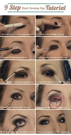 smokey eye tutorial - to try