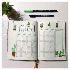 My monthly spread for March. This month I added a monthly goals section, I'm curious to see if it works for me . . . #bulletjournal #bulletjournaling #bulletjournalingcommunity #bulletjournalist #bulletjournalinspiration #bujo #bujojunkies #dutchbulletjournaling #dutchbulletjournal #dutchbujo #planner #showmeyourplanner #plannerlove #stationery #stationeryaddict #bujolove #planneraddict #plannercommunity #planwithme #plannerholic #bulletjournalcollection #bulletjournalinspiration #journa...