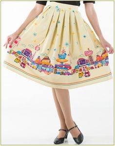 Adorable Drive-In skirt at daddyos.com
