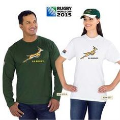 2015 Rugby World Cup Springbok Supporter Clothing South Africa 2015 Rugby World Cup, Corporate Outfits, New Tricks, Sport Outfits, South Africa, Polo Ralph Lauren, Long Sleeve, Sports, Mens Tops
