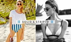 New Solid & Striped Suits Added!