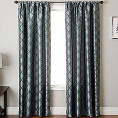 jcp   Princeton Rod-Pocket Curtain Panel