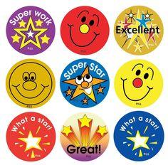 Free printable Reward Stickers