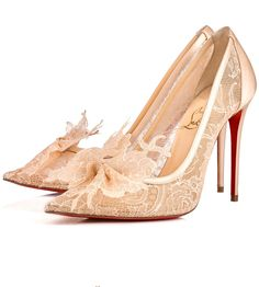b6d9026a5e41 Christian Louboutin United States Official Online Boutique - Delikatissima  100 Version Nude Lace Chantilly available online. Discover more Women Shoes  by ...
