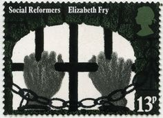 Hands clutching Prison Bars (Elizabeth Fry) stamp from Social Reformers issue, April 1976 David Gentleman, Home Office, Melbourne, Design Living Room, Glasgow School Of Art, Royal College Of Art, Postage Stamps, Uk Stamps, Penny Black