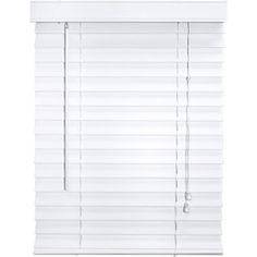 Better homes and gardens 2 quot faux wood blinds white formerly canopy 2