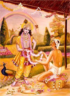 Florist & Lord Krishna