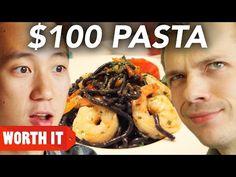 $8 Pasta Vs. $100 Pasta. Link download: http://www.getlinkyoutube.com/watch?v=NHiqsrYkcuk