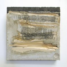 "Marlies Hoever (Santa Cruz CA) - ""1864,"" concrete w/ mixed media"