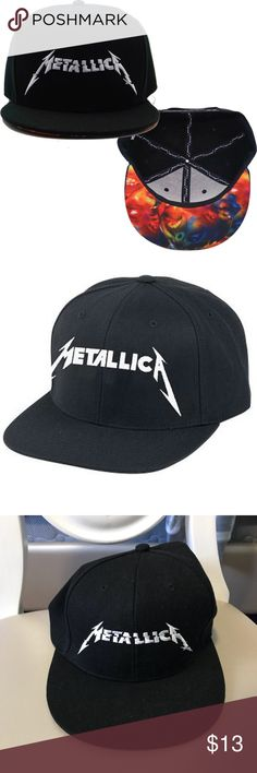 Official Metallica SnapBack Perfect condition, worn once. Official Metallica merch from their pop up store in NYC.  🌼Thank you for looking!  🌼I ship within 2 days shipping excluding holidays 🌼I do not trade! 🌼I only accept offers through the offer button! 🌼Thank you for shopping and feel free to ask any questions! 🚭Smoke free home Accessories Hats