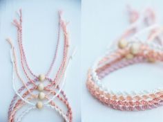 I discovered a new knotting technique for me - macrame!november - Make a twisted macrame bracelet! Diy Jewelry To Sell, Diy Jewelry Tutorials, Handmade Jewelry, Bracelet Crafts, Macrame Bracelets, Jewelry Crafts, Friendship Bracelet Patterns, Friendship Bracelets, Jewelry Illustration