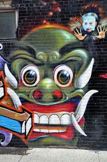 A Graffiti Walk in Toronto, Rush Lane