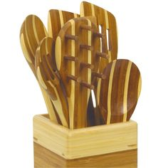 EKCO Pao! 8 Piece Complete Bamboo Tool Set *** Check this awesome product by going to the link at the image.