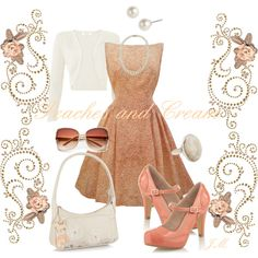 """""""1950's Party Dress"""" by jenniemitchell on Polyvore"""