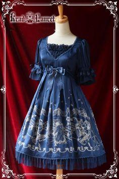 Kl The Phantom of the Opera Chiffon Lolita OP Dress                                                                                                                                                                                 More