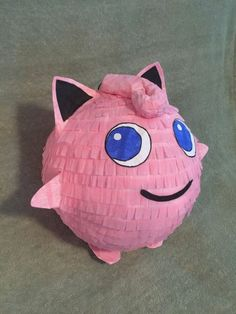 Making Pinata: A sweet surprise for your child's birthday Pokemon Pinata, Pokemon Party, Paper Mache Diy, Similar Triangles, How To Make Pinata, Paper Mesh, Mini Pinatas, Pokemon Birthday, Black Paper