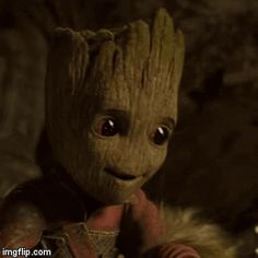 Groot is Amazed