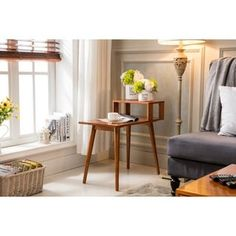 Shop for Porthos Home Stevany Side Table. Get free shipping at Overstock.com - Your Online Furniture Outlet Store! Get 5% in rewards with Club O! - 19203222