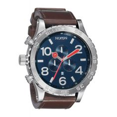 Montre Nixon The 51-30 Chrono Leather A124NX1879 51mm / A