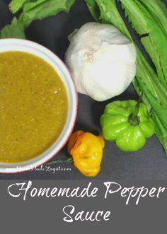 A traditional pepper sauce recipe using scotch bonnet peppers used to flavor and add some heat to just about any food.