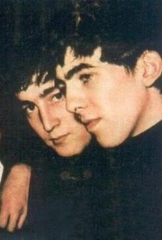 a really sweet image of George & John                                                                                                                                                                                 Más