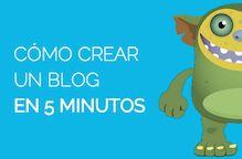 Crear un blog en 5 minutos