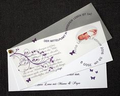 Einladungskarte Taufe ♥ Von Designisch Auf DaWanda.com