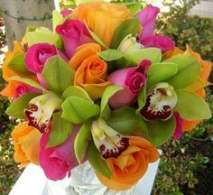 preciosos ramos de flores ideas con rosas fiestas temáticas