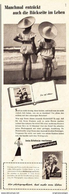 Werbung - Original-Werbung/ Anzeige 1955 - 100 PHOTOTIPS UND TRICKS - ca. 110 x 320 mm