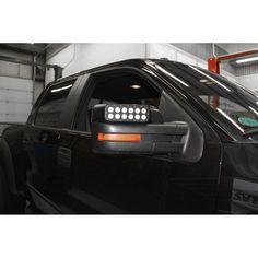 Oracle Lighting Off-Road LED Side Mirror Cap Pair F-150 2009-2014/F-150 Raptor 2010-2014