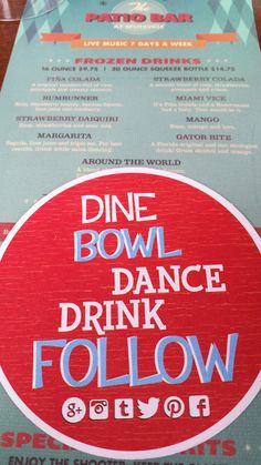 Dine. Bowl. Dance. Drink. Follow. Splitsville at Downtown Disney's Westside has a fun, party-themed social feel that you can't help but be a part of! #LuxuryBowling #DisneyWorld #DtD #Westsiiiide #Bowl #Partytime