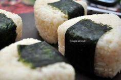 Onigiri crabe wasabi