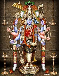 Dasavadara Perumal-Magnify to see the 10 Avadars of Lord Vishnu